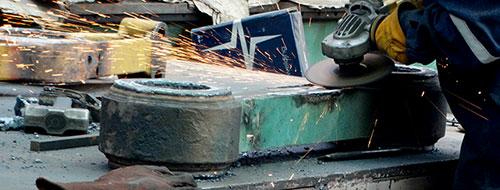 Reparación y mantenimiento de cilindros hidráulicos